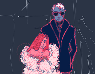 Lore Olympus in my drawing style