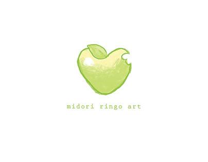 Midori Ringo Art Logo