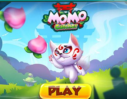Platformer_Momo catcher (game art)