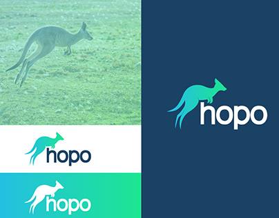 Hopo kangaroo dailylogochallenge day 19