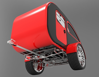Mini Caravan - Expandable (Concept 3)