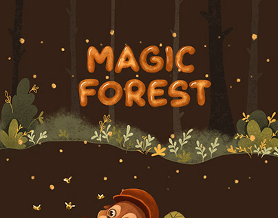 CHARACTERS DESIGN Magic Forest