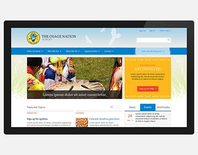 Osage Nation Website