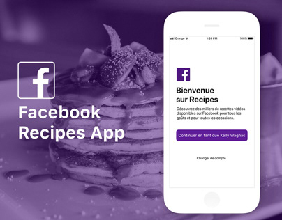 Facebook Recipes App