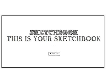 Sketchbook - Bootstrap Web Template