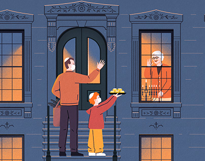 Baltimore magazine - Hanukkah
