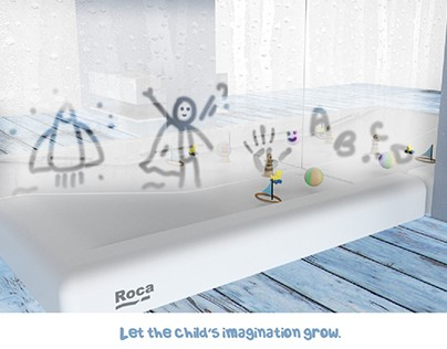 To create surprising experiences for kids in a bathroom