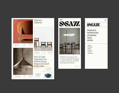 SSAZZ—Design Direction