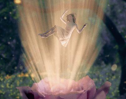 """Petal Born"" - Photo Composite"