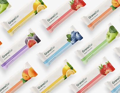 GranoBar - 100% Natural Granola Snacks