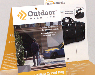 Outdoor Products Hangtag