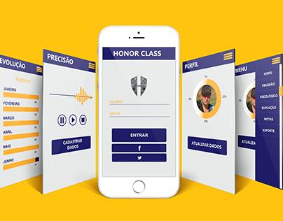 Honor Class - Projeto Aplicativo Mobile