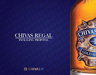 CHIVAS REGAL - SECOND USE PACKAGING