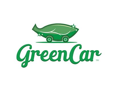 logo para os produtos GreenCar - biolavagem automotiva.
