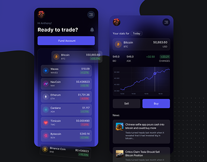 Crypto Exchange Wallet Mobile App
