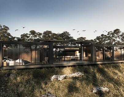 Customizable Modern Prefab Home | Archviz Render