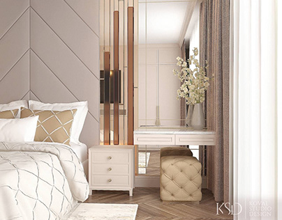 KSD-проект. Дизайн интерьера спальни