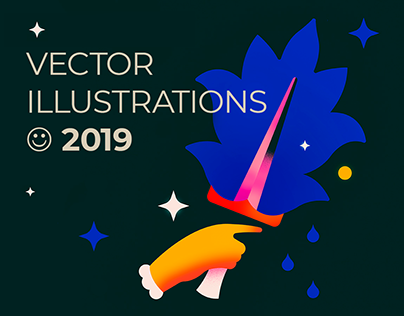 Updated! ☾ Vector Illustrations 2019