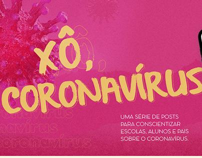 Xô Coronavírus - Social media