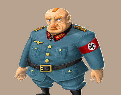 Nazi general game character
