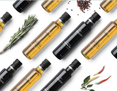 UNIQUM | Premium Olive oil Branding and Packaging