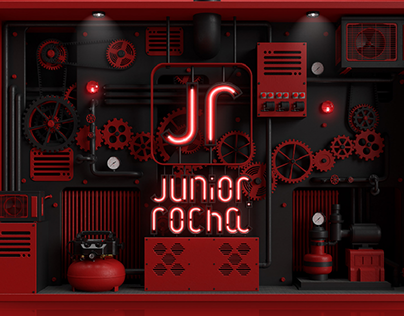 Junior Rocha Machine Logo