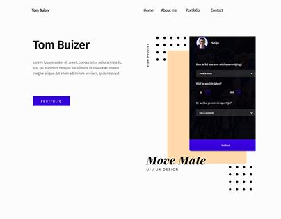 Portfolio Website Concept