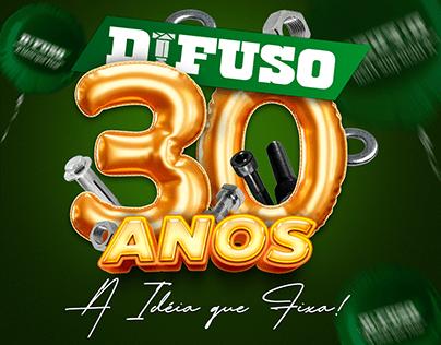 CAMPANHA DE ANIVERSÁRIO DIFUSO