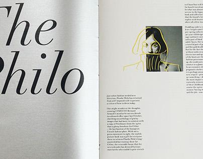 Phoebe Philo Monograph