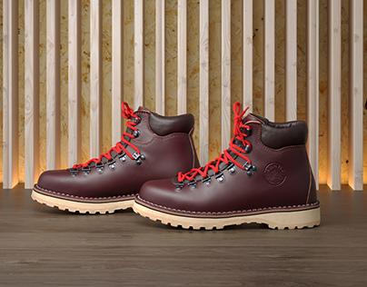 Process of making Diemme boots