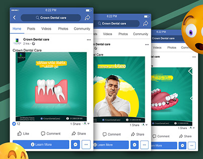 Social media designs:Clinic designs