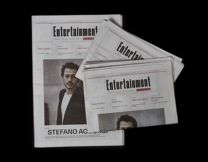 Entertainment Illustrated // Newspaper Restyling