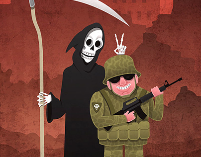 Soldier and Death