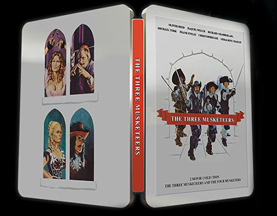 Three musketeers - 1973 - STEELBOOK - Mock-up