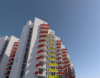 Housing in Kiev. Residential architecture. Appartments