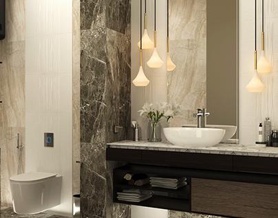 Luxury Toilet Design
