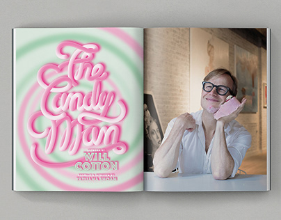THE CANDY MAN Interview with Artist Will Cotton