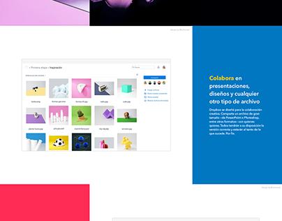 Dropbox (Redesign Concept)