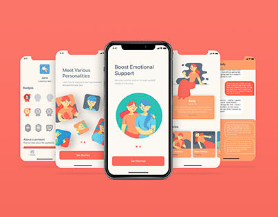 CureHeart: Emotional Support Practice App