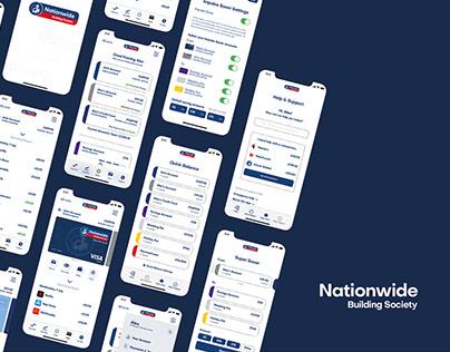 Nationwide UX/Website/Branding Concept