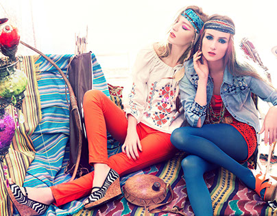 BOHO RHAPSODY IN CLASHING COLOURS