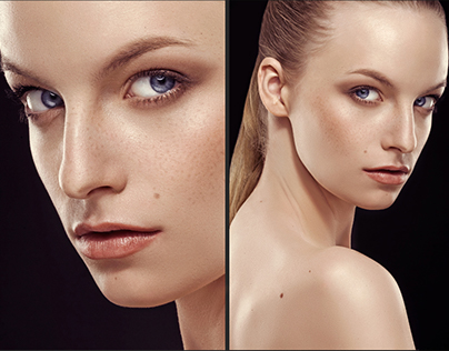 Retouching work to Stefan Bourson