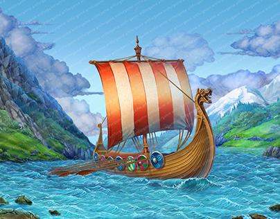 "Online slot machine – "" Legend of Viking"""