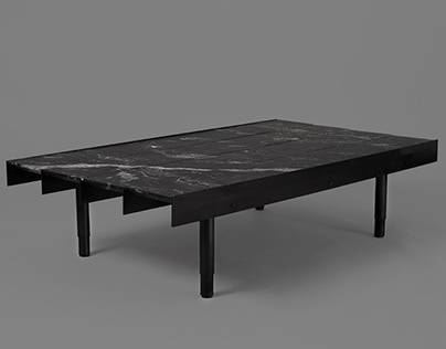 Brut Series. Coffee Table and Canapé