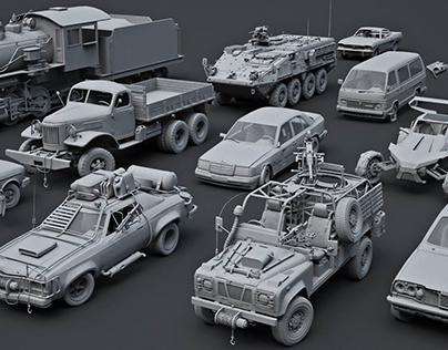 Vehicles 2014 - 2015