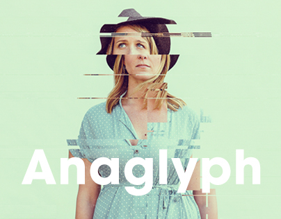 Anaglyph - Glitch Photo FX