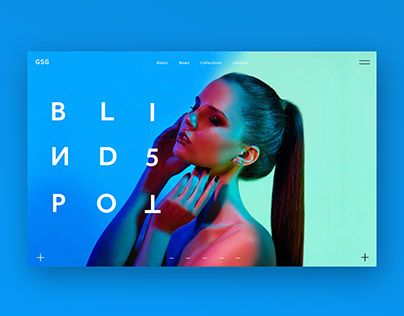 Blindspot Branding & Ui Design Concept
