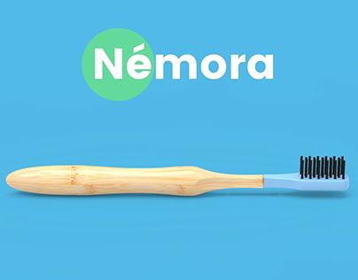 Nemora - cepillo de dientes 100% biodegradable
