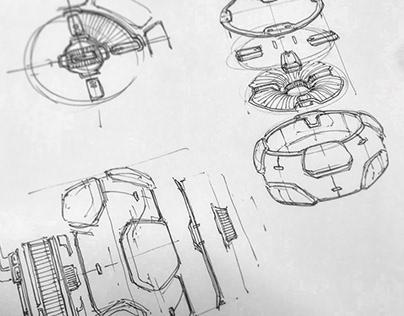 Alexander Edgington Sketchbook 2020