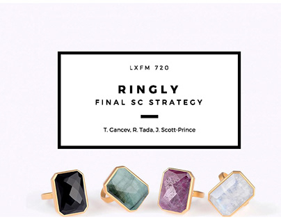 Ringly Supply Chain Strategy